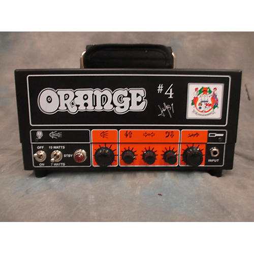 Orange Amplifiers TT15JR Jim Root Number 4 Signature 15W Tube Guitar Amp Head-thumbnail