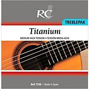 RC Strings TT30 Titanium Treblepak - 1st, 2nd and 3rd strings for Nylon String Guitar