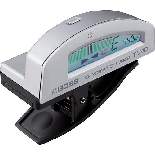 Boss TU-10 Clip-On Chromatic Tuner Silver