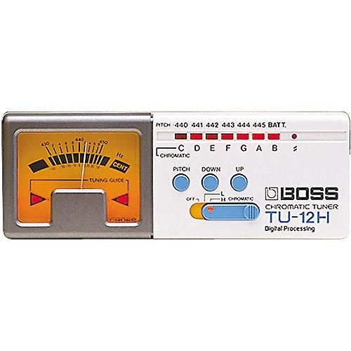 Boss TU-12H High-Range Chromatic Tuner-thumbnail