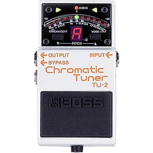 Boss TU-2 Chromatic Stompbox Tuner-thumbnail