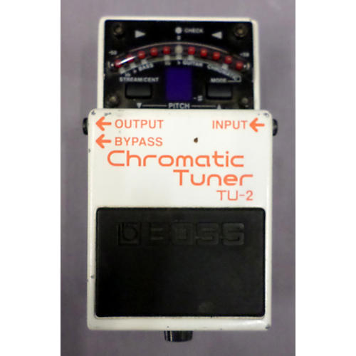 Boss TU2 Chromatic Tuner Pedal-thumbnail