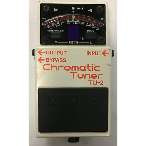 Boss TU2 Chromatic Tuner Pedal-thumbnail