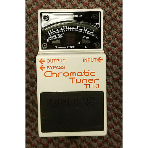 Boss TU3 Chromatic Tuner Pedal-thumbnail