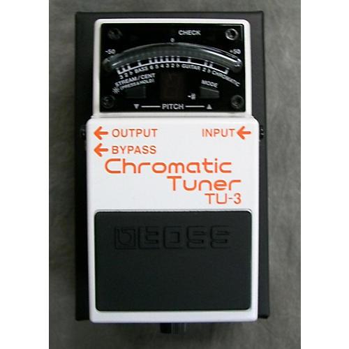 chromatic tuner tu 3 manual