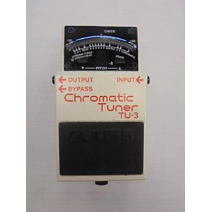 Pre-owned Boss TU3 Chromatic Tuner Pedal by Boss