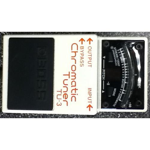 Boss TU3 Chromatic White Tuner Pedal