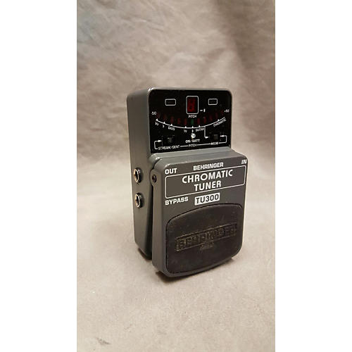 Behringer TU300 Chromatic Tuner Pedal-thumbnail