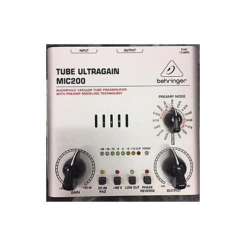Behringer TUBE ULTRAGAIN MIC200 Microphone Preamp