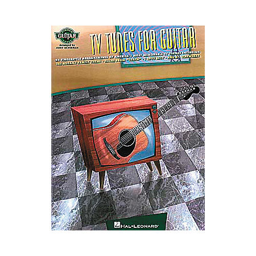 Hal Leonard TV Tunes For Fingerstyle Guitar Book-thumbnail