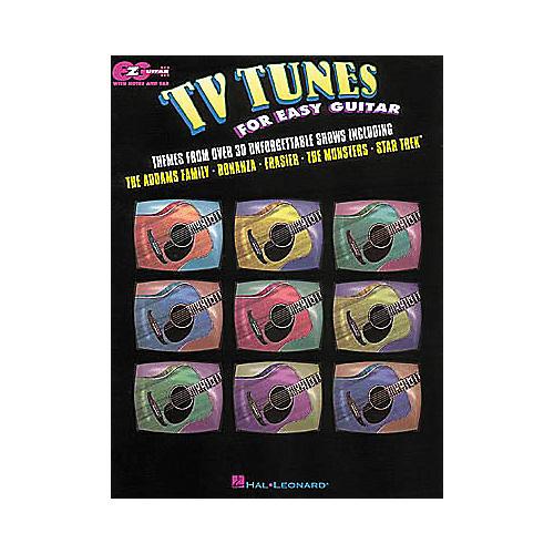 Hal Leonard TV Tunes for Easy Guitar Book-thumbnail