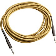 Musician's Gear TWEED 1/4 STRAIGHT-STRAIGHT INSTRUMENT CABLE