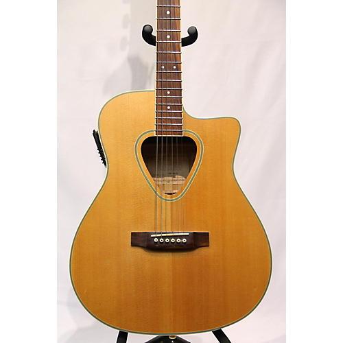 used hohner twp600n acoustic electric guitar natural guitar center. Black Bedroom Furniture Sets. Home Design Ideas