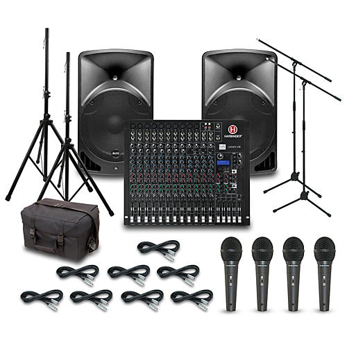 alto tx15usb with harbinger l2404fx usb mixer pa system guitar center. Black Bedroom Furniture Sets. Home Design Ideas