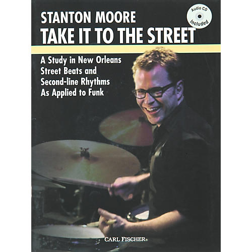 Carl Fischer Take it to the Street with Stanton Moore (Book/CD)-thumbnail