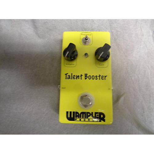 Wampler Talent Booster Effect Pedal