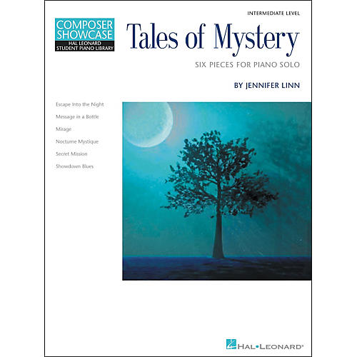 Hal Leonard Tales Of Mystery - Six Intermediate Level Piano Solos Hal Leonard Student Piano Library by Jennifer Linn