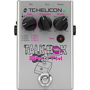 TC Helicon Talkbox Synth Guitar Effects Pedal