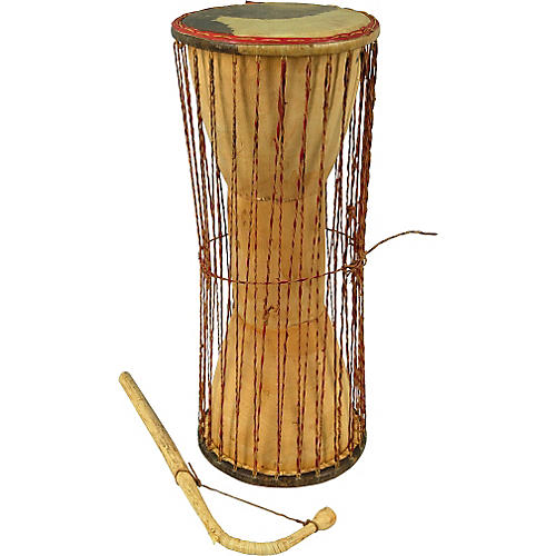 East Meets West Talking Drum with Beater
