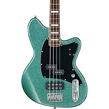 Talman Bass TMB310 4-String Electric Bass Guitar Turquoise Sparkle