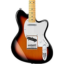 Talman Series TM302M Electric Guitar Tri-Fade Burst Maple Fingerboard