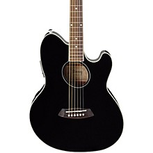 Talman TCY10 Acoustic-Electric Guitar Black