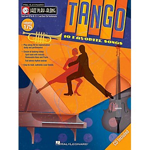 Hal Leonard Tango - Jazz Play-Along Volume 175 Book/CD by Hal Leonard