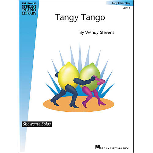 Hal Leonard Tangy Tango - Showcase Solo - Level 1 Early Elementary-thumbnail