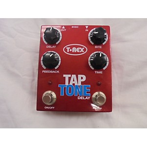 Pre-owned T-Rex Engineering Tap Tone Delay Effect Pedal by T Rex Engineering