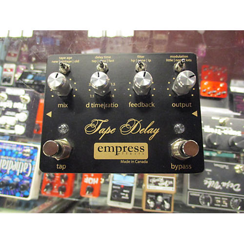 Empress Effects Tape Delay Effect Pedal-thumbnail
