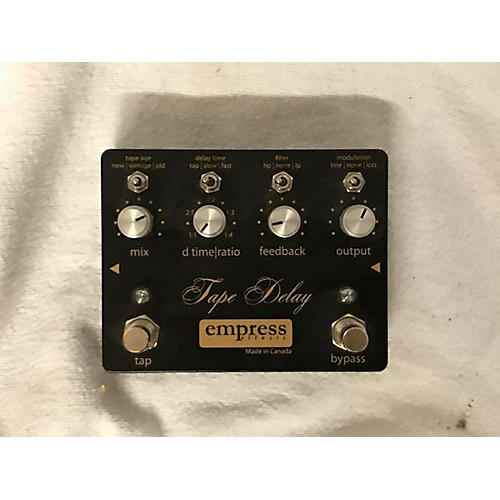 Empress Effects Tape Delay Effect Pedal