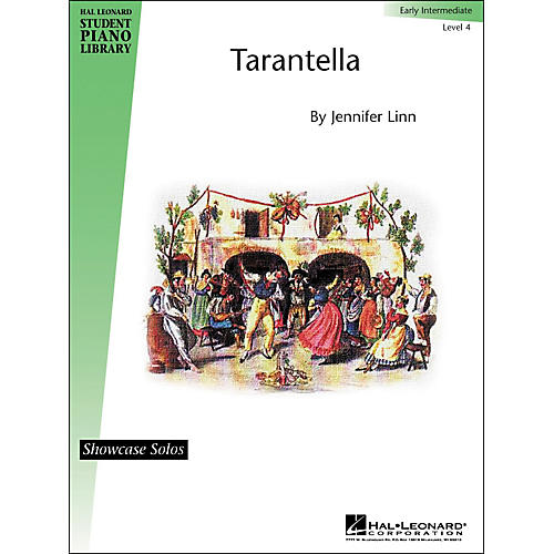 Hal Leonard Tarantella Early Intermediate Level 4 Showcase Solos Hal Leonard Student Piano Library by Jennifer Linn