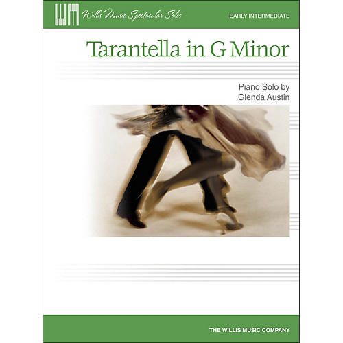 Willis Music Tarantella In G Minor - Early Intermediate Piano Solo Sheet-thumbnail