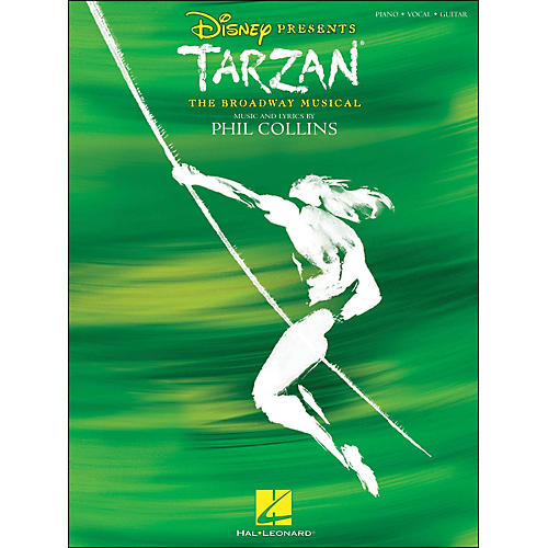 Hal Leonard Tarzan - The Broadway Musical arranged for piano, vocal, and guitar (P/V/G)-thumbnail
