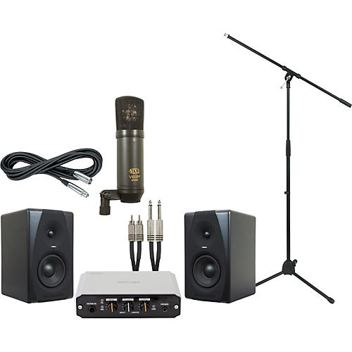 M-Audio Tascam US-100 and M-Audio CX5 Recording Package