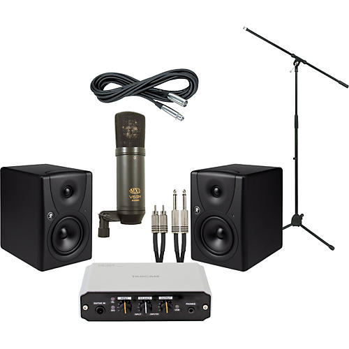 Mackie Tascam US-100 and Mackie MR5 Recording Package-thumbnail
