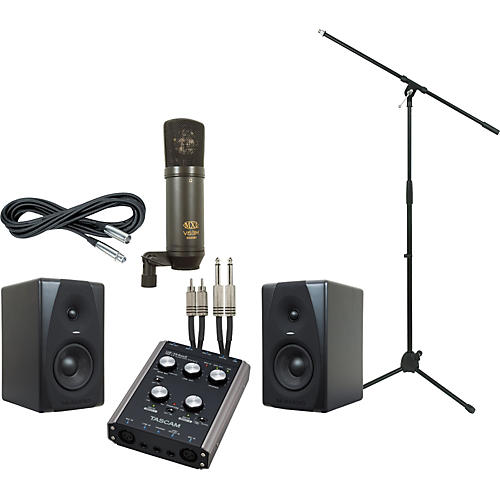 M-Audio Tascam US-144MKII and M-Audio CX5 Recording Package-thumbnail