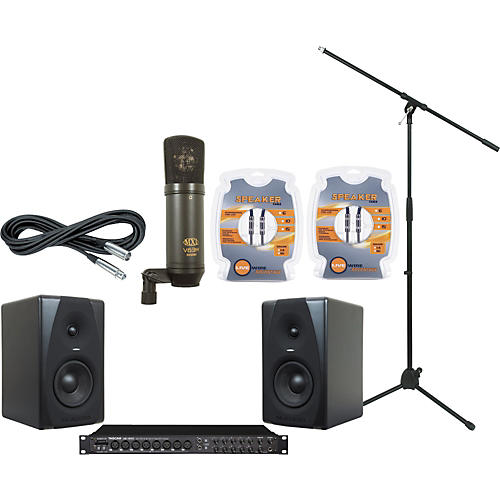 M-Audio Tascam US-1800 and M-Audio CX5 Recording Package-thumbnail