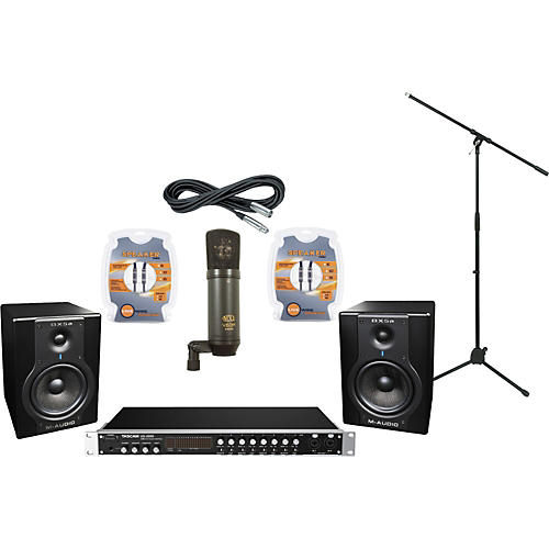M-Audio Tascam US-2000 and M-Audio BX5a Recording Package-thumbnail