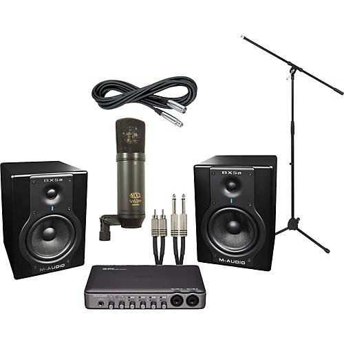 M-Audio Tascam US-600 and M-Audio BX5a Recording Package-thumbnail