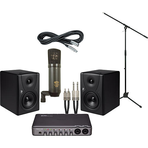 Mackie Tascam US-600 and Mackie MR5 Recording Package-thumbnail