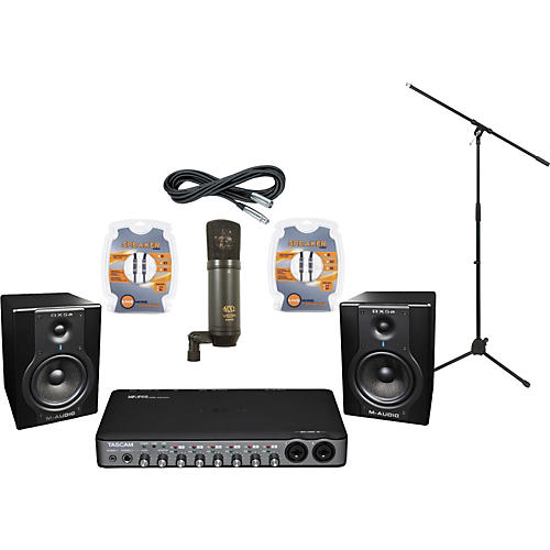 M-Audio Tascam US-800 and M-Audio BX5a Recording Package-thumbnail