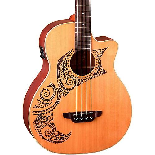 Luna Guitars Tattoo Cedar Acoustic-Electric Bass