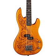 Luna Guitars Tattoo Short Scale Electric Bass