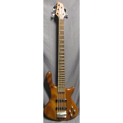Washburn Taurus Electric Bass Guitar Natural Mahogany