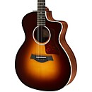 Taylor 214ce Deluxe Grand Auditorium Cutaway Acoustic-Electric Guitar (214ce-SB-DLX)