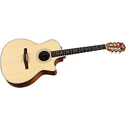 Taylor 414ce-N Ovangkol/Spruce Nylon String Grand Auditorium Acoustic-Electric Guitar