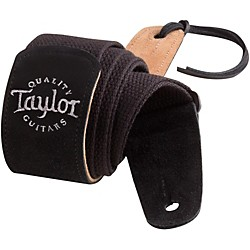 Taylor Cotton Guitar Strap with Suede Ends (65000)
