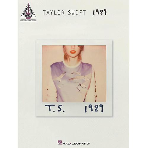 Hal Leonard Taylor Swift - 1989 Guitar Tab Songbook