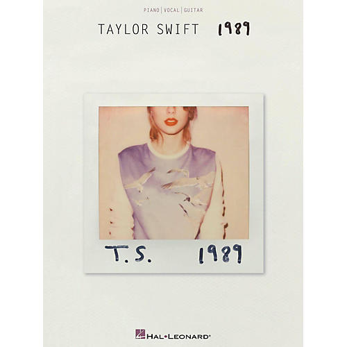 Hal Leonard Taylor Swift - 1989 Piano/Vocal/Guitar-thumbnail